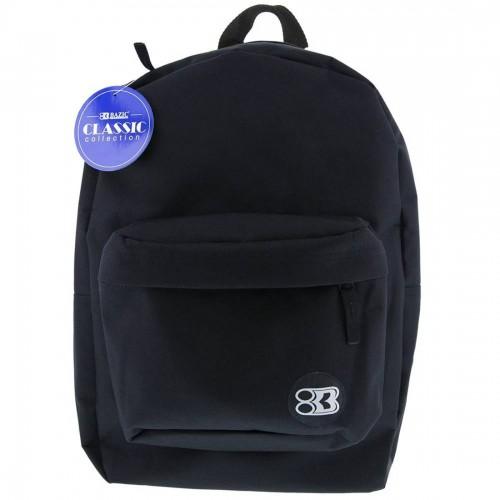 Bazic 17'' Classic Backpack - Black