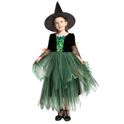 Princess Witch Green Costume