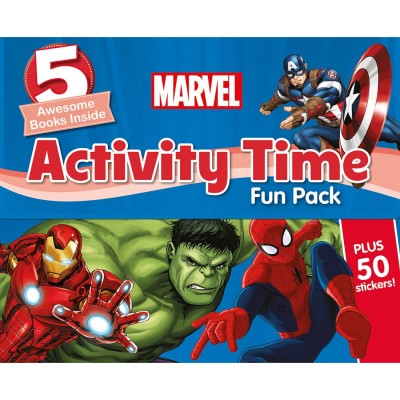 Marvel Activity Time Fun Pack