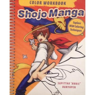 Shojo Manga Color Workbook:...