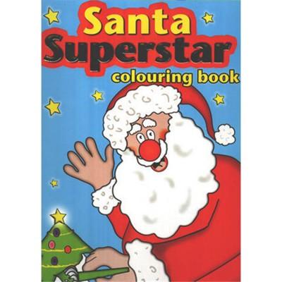 Santa's Superstar Colouring...