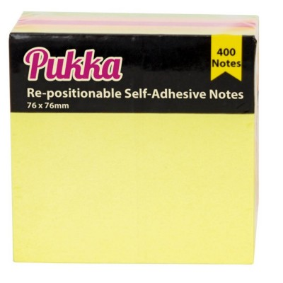 Pukka Square Pad Notes