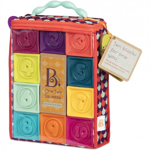 """B. toys Baby Blocks """"One Two Squeeze"""""""
