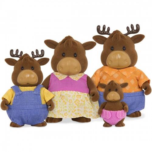 Li'l Woodzeez Vanderhoof Moose Family...