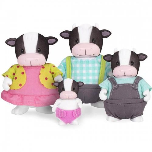 Li'l Woodzeez Moosicalmoo Cow Family...