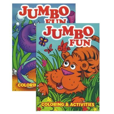 Bazic Jumbo Fun Coloring &...