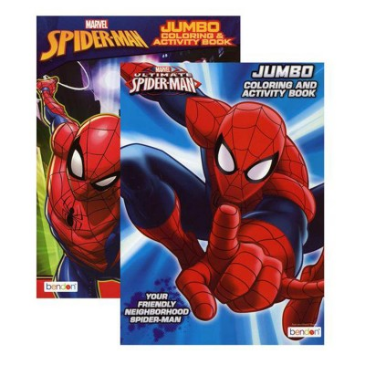 Bazic Spiderman Coloring Book
