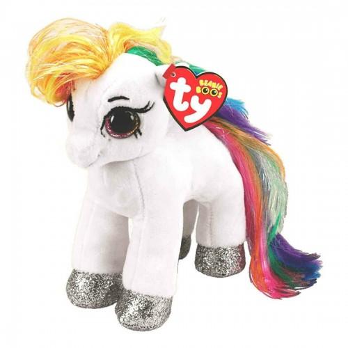 TY Beanie Boos Babies Star White Pony