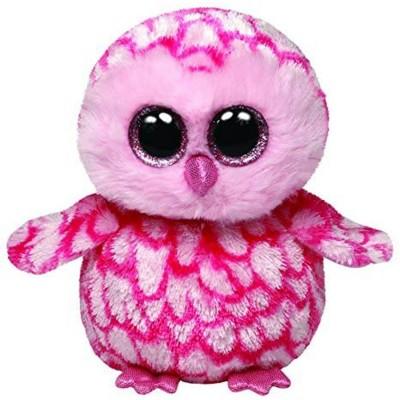 TY Beanie Boos Owl Twiggy Pink