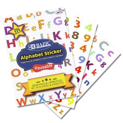 BAZIC Alphabet Plastic...