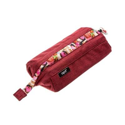 Zipit Lenny Pencil Case Red