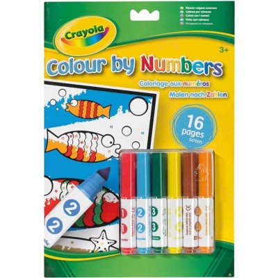 Crayola Colour By Number...