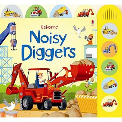 Usborne: Noisy Diggers