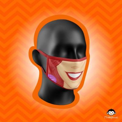 Monkeylicious Ariel Mask
