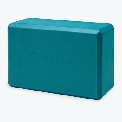 GAIAM Blue Teal Yoga Block