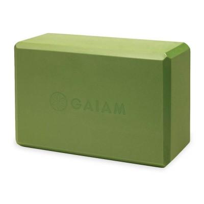 GAIAM Green Yoga Block