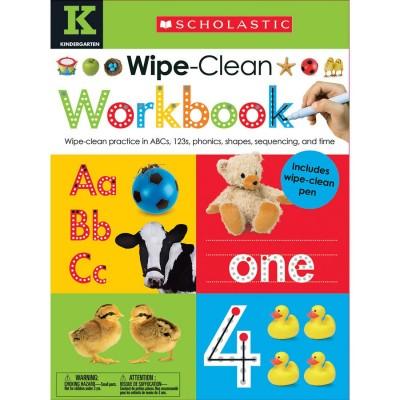 Scholastic Wipe Clean...