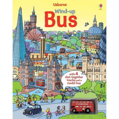 Usborne Wind-Up Bus Book...