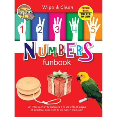 Wipe And Clean Numbers Funbook