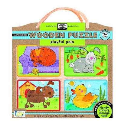 Wodden Puzzles Playful Plas