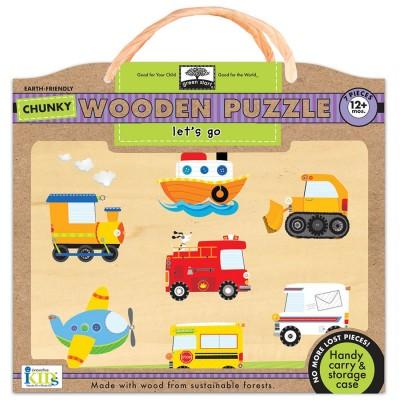 Wodden Puzzles LETS GO