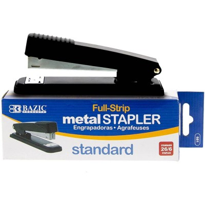 BAZIC Metal Full Strip Stapler