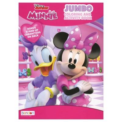 BAZIC Minnie Coloring Book