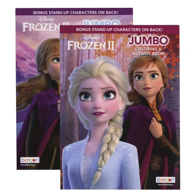 BAZIC Frozen 2 Coloring Book