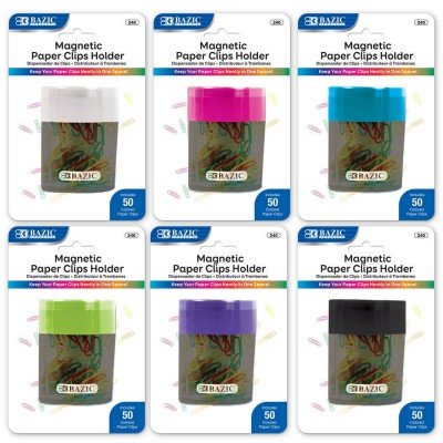 BAZIC Magnetic Paper Clips...