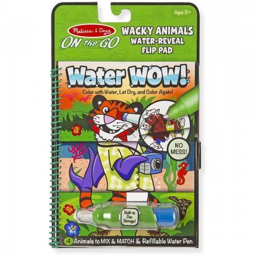 Melissa & Doug Water Wow! Wacky Animals