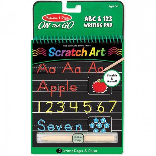 Melissa & Doug Scratch Art - Abc &...