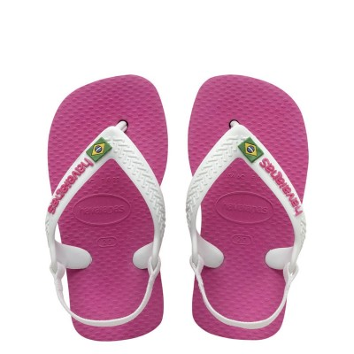 Havaianas Brasil Logo Pink