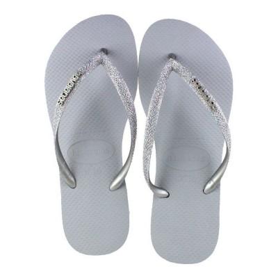 Havaianas Slim Glitter Silver