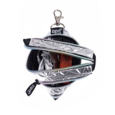 Zipit Metallic Silver Mini...