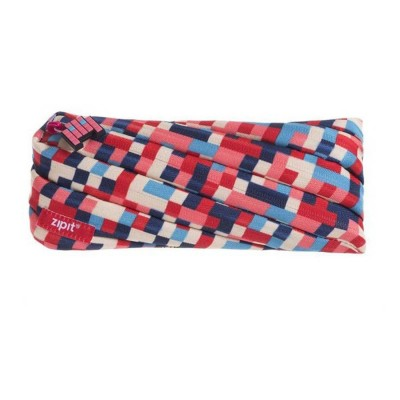 Zipit Pixel Blue & Red Pouch