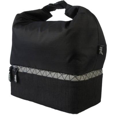 Zipit Metro Lunch Bag Black