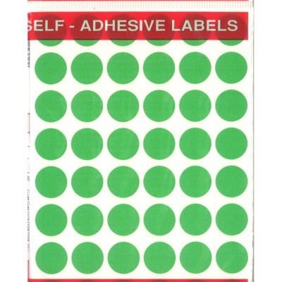 Tanex Office Label Green -...