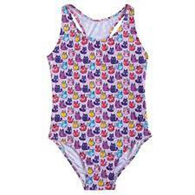 SlipStop Cup Cats Swimsuit