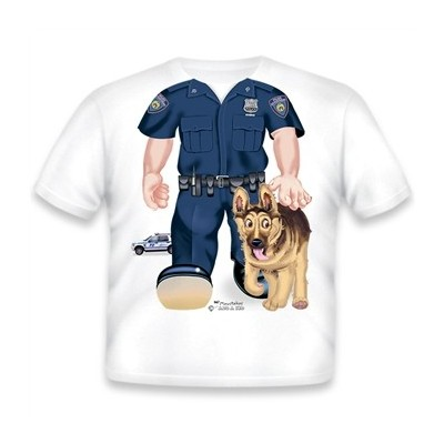 Just Add A Kid Police K9...