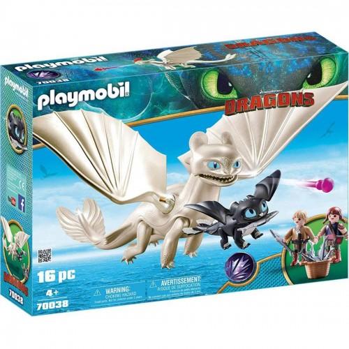 Playmobil Light Fury and Baby Dragon...