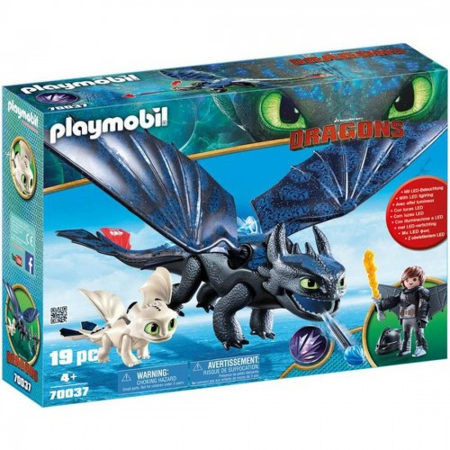 Playmobil Hiccup and Toothless Playset