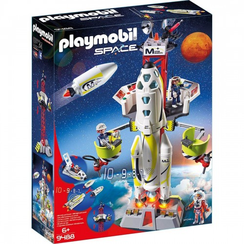 Playmobil Mission Rocket with Launch...