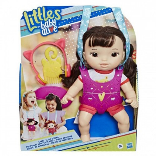 Baby Alive Littles Carry And Go Squad...