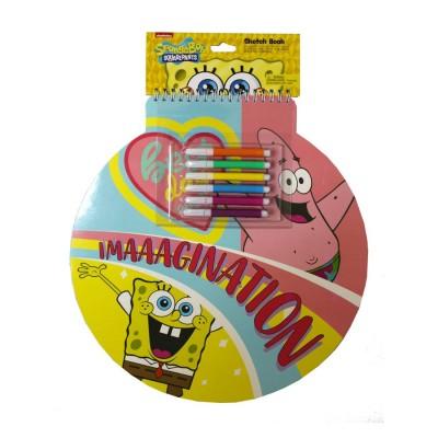 Inkology Spongebob Sketch Book