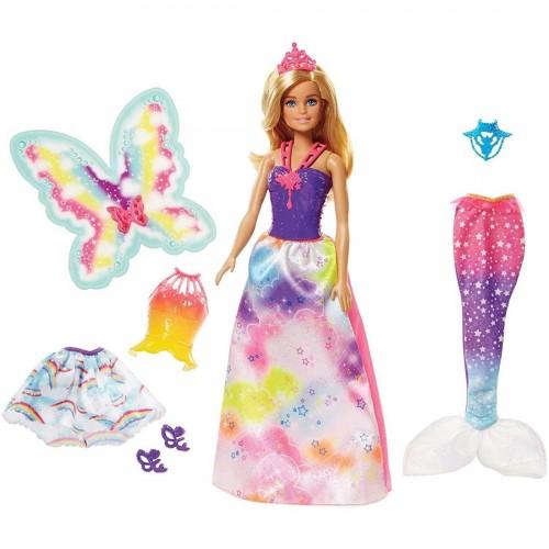Barbie Dreamtopia Doll with 3...