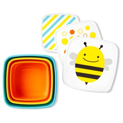 Skip Hop Snack Box - Bee