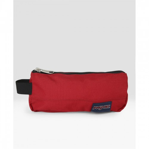 JS00T49A9FL Maroon Solid Accessory Pouch