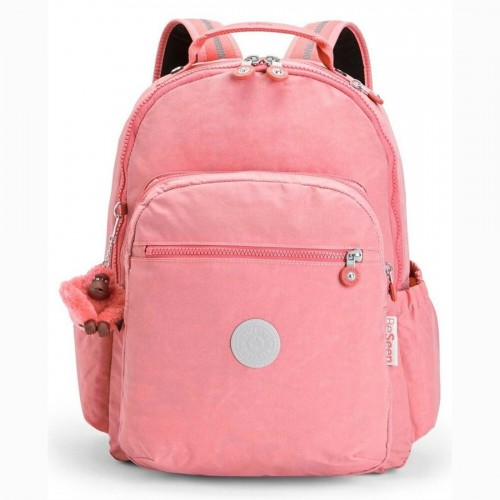 Kipling Seoul Go Backpack Pink Flash