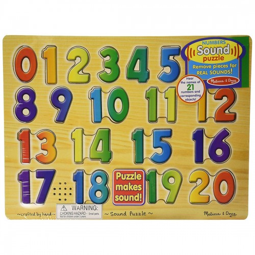 Melissa and Doug Numbers Sound Puzzle
