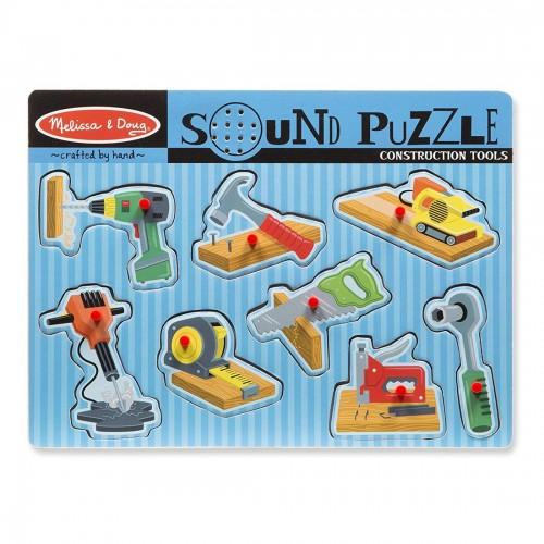 Melissa & Doug 8pc Sound Puzzle -...
